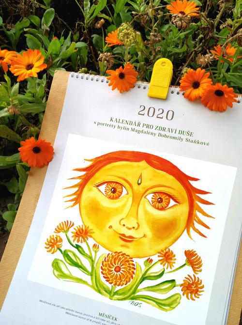 Kalendář pro zdraví duše 2020 M.D.Staňkové