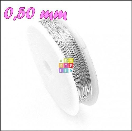 (0315) Drôtik 0,50 mm - návin 10 metrov