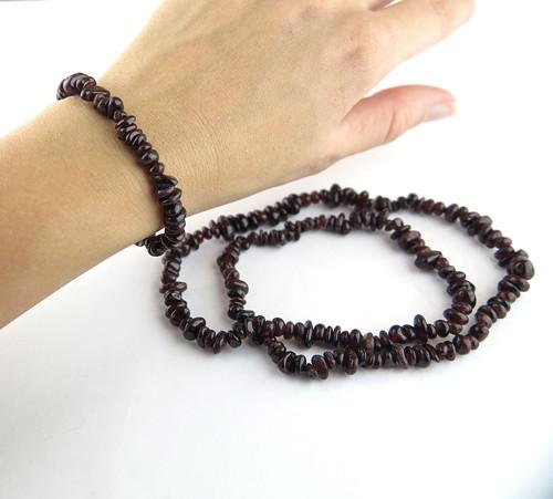 Náramek a náhrdelník Granát