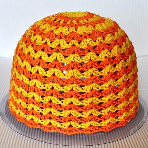 Veselá jarní - dospělácká čepice