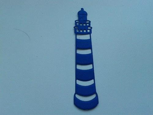 Maják - modrý