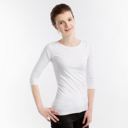 Bílé tričko Klasika
