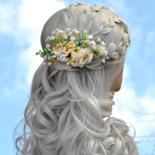 Svatební hřebínek  do vlasů La Yeelet