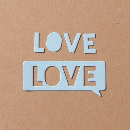 Štítek LOVE