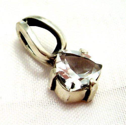 Přívěsek «Něha» - stříbro 925, bílý topaz