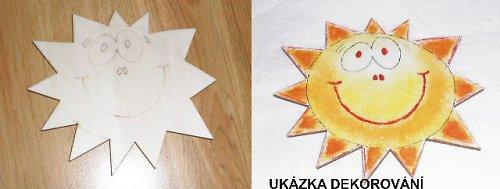 Sluníčko s úsměvem 11x13cm