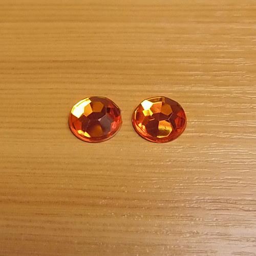 Akrylový kabošon - 12 mm - 4 kusy