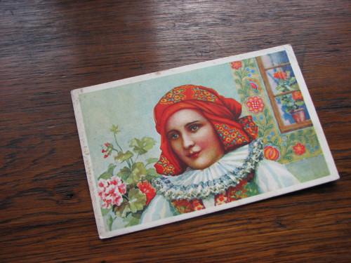 Krojovaná...pohlednice, kroje