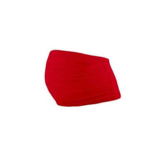 Těhotenský pás červený