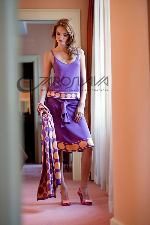 fialová sukně-pás 253  SLEVA 30%
