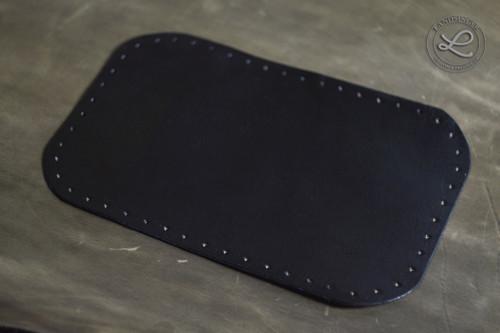Kožené dno větší obdélník - polotovar na kabelky