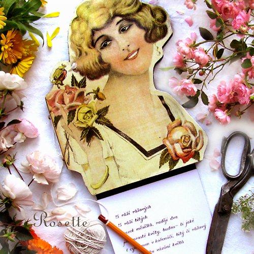 Paní Betty miluje květy ... - pamětník