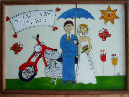 Svatební - Jawa 250 :-)