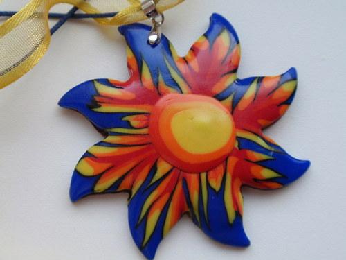 Indiánské léto slunce