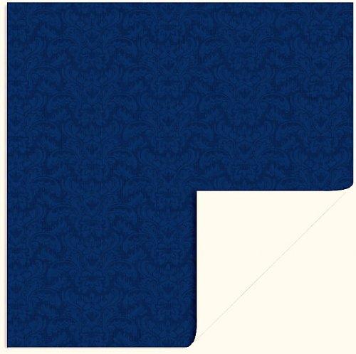 Papír Brocade Blue