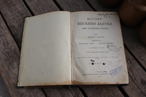 Kniha - Mluvnice řeckého jazyka pro gymnysia česká