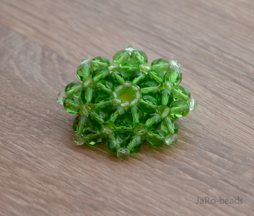 Brož zelená
