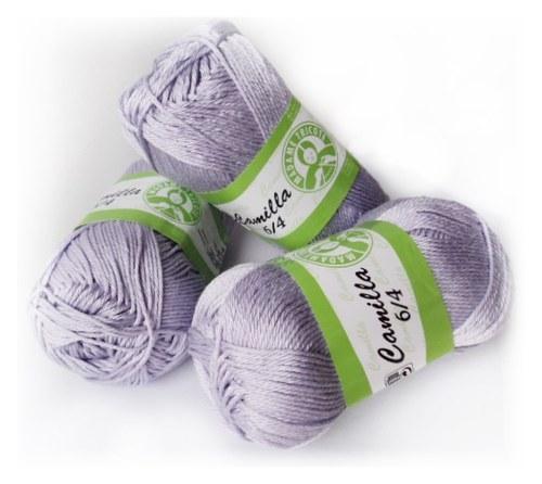 Camilla příze 100%bavlna 5316 lila