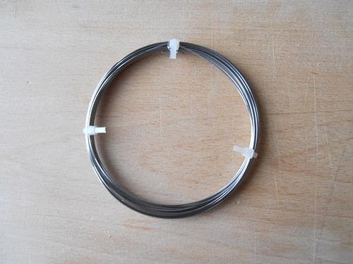 Nerezový drát 0,8 mm délka 10 metrů