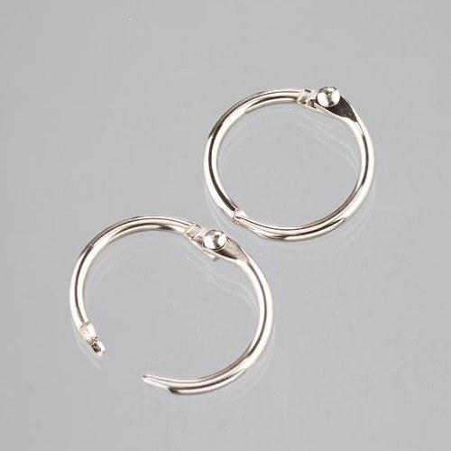 Kovové spojovací kroužky - Knihařské 20/25 mm