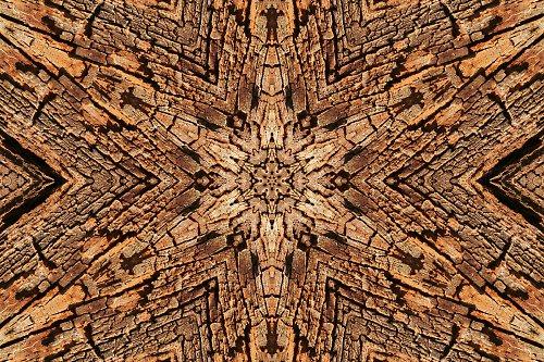 Mandala dřeva (3) (více variant)