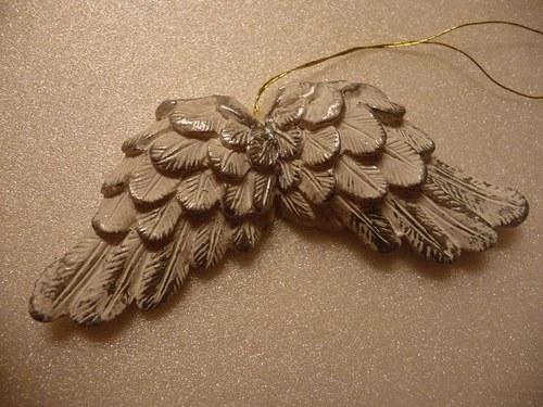 Andělská křídla stříbrná