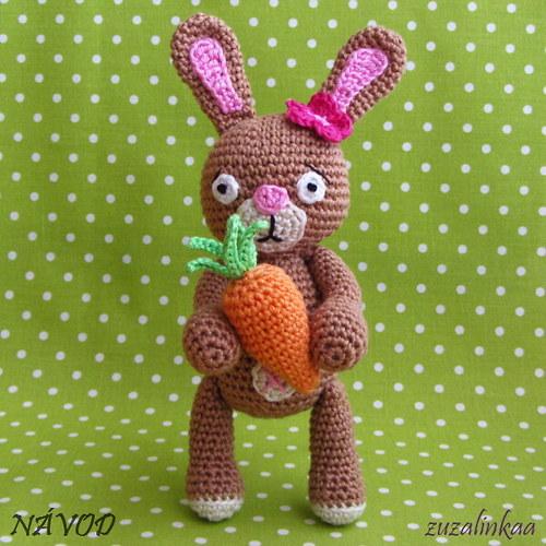 Návod - Zajíček I (hračka)