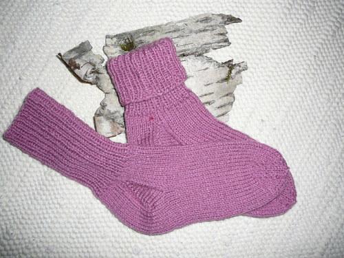 Ručně pletené ponožky č.53  .... ...   vel.36-37