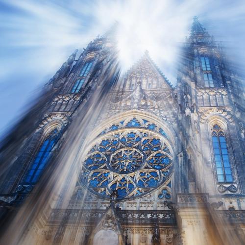 Katedrála - fotografie 30x30cm