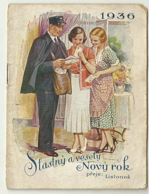 Poštovní knížka 1936