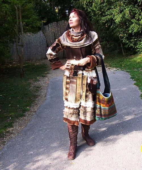etno kardigan a kapsa, patchwork 15