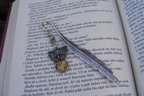 Záložka do knihy - motýlková