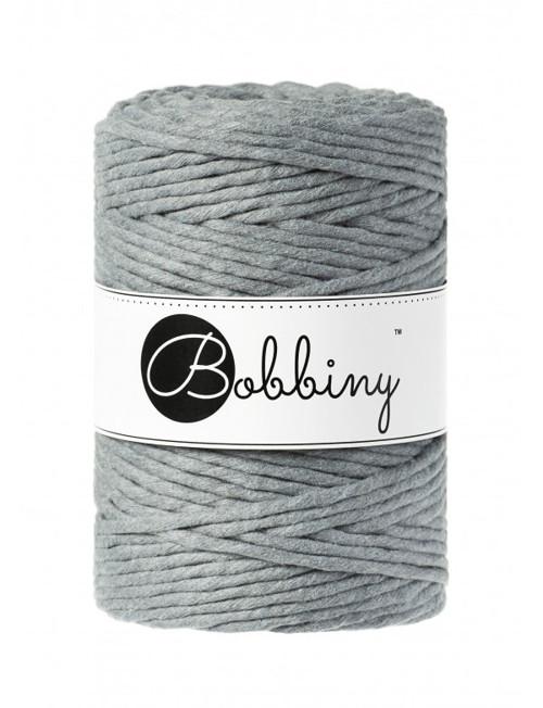Bobbiny Macrame XXL (5mm) - STEEL
