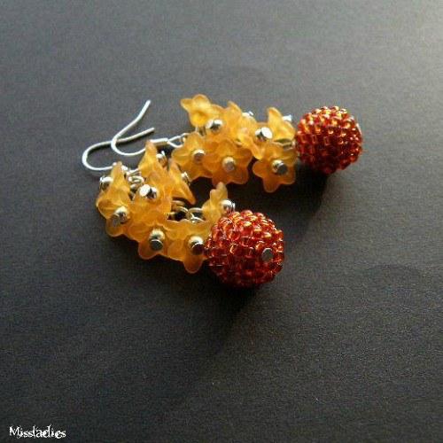 Flowery balls