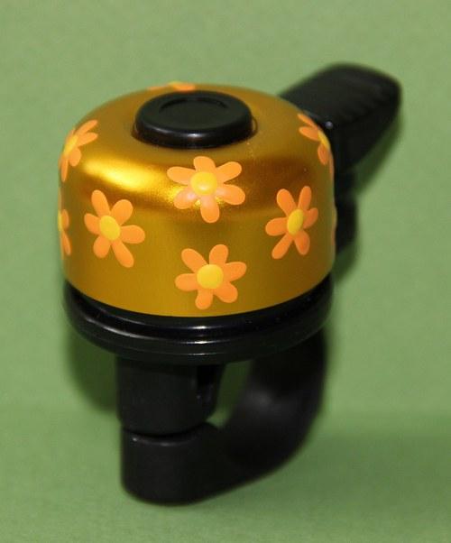 Zvonek na kolo- oranžové kvítí