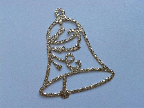 Zvoneček - zlatý