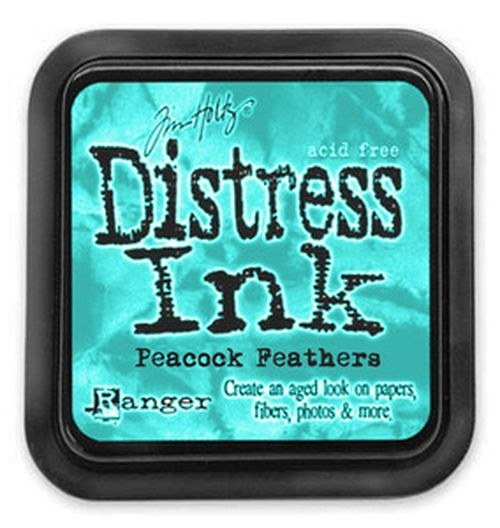 Distress Ink, inkoust Peacock Feathers