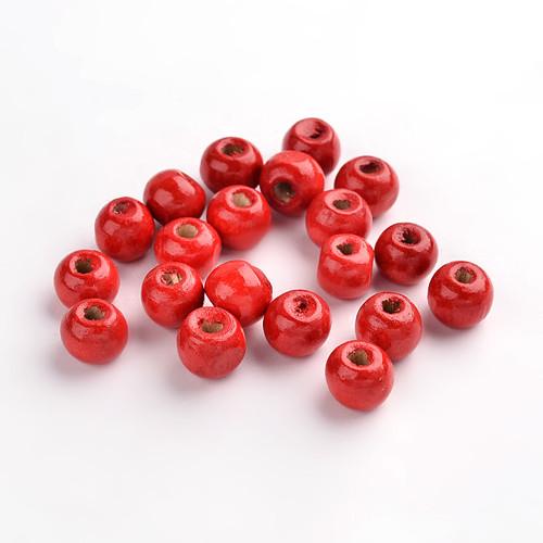 Dřevěné korálky - kuličky 10 mm (cena 50ks)