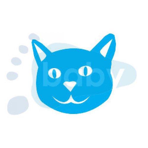 Razítko kočička 3 x 3 cm