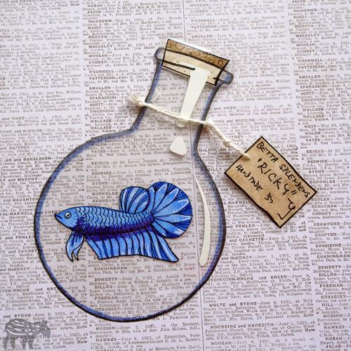 Ryba ve flašce: Ricky