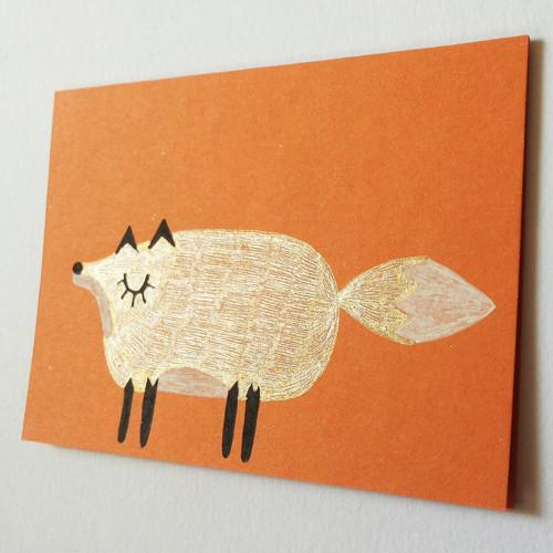 Přáníčko liška
