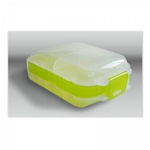 Plastový box / zelenkavý