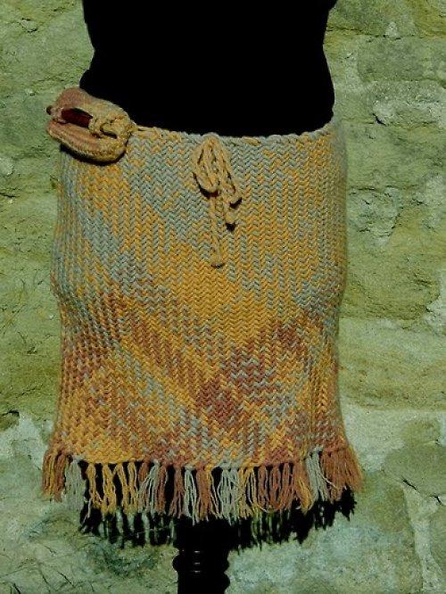 Královna Nefertiti II-sukně