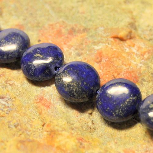 LA207 - Lapis lazuli kolečko 12 mm