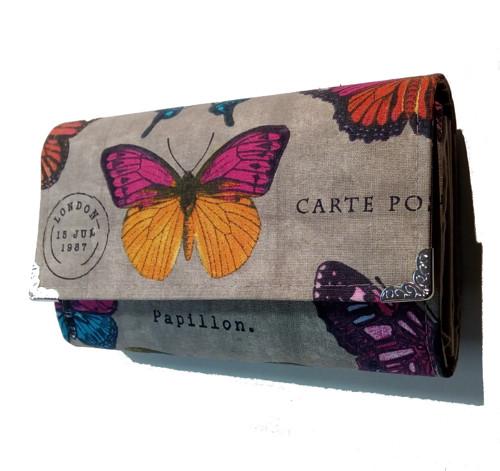 peněženka Růžový motýl 16cm