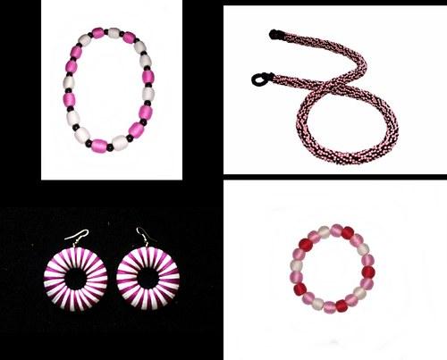 Cenově zvýhodněná sada v růžových barvách