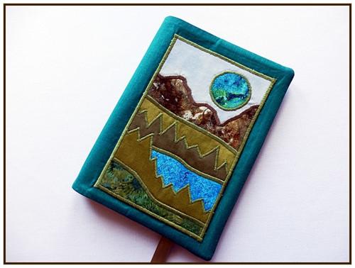 Obal na knihu - jiný pohled na zem