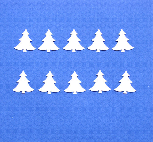 Mini stromečky - 10 ks