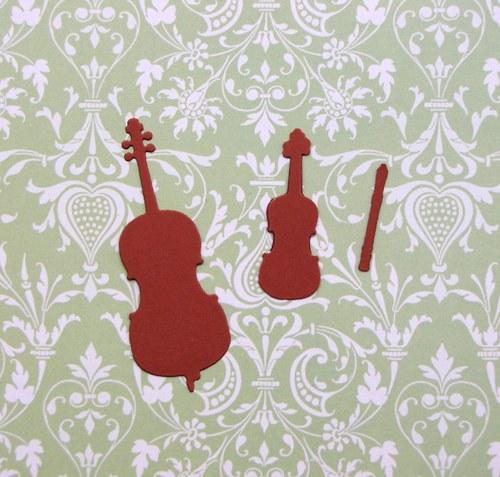Basa, housle a flétna