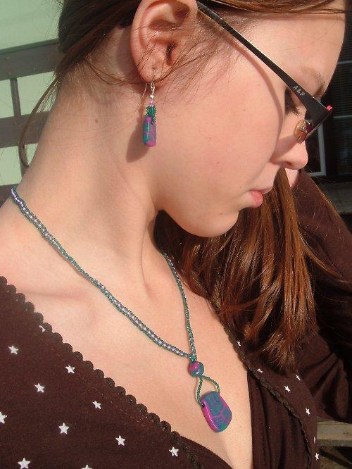 náhrdelník s náuškama